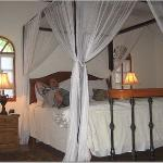 The comfy bed