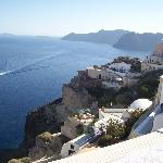 View from the town of Oia