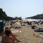 Cala Esmerelda beach
