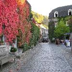Durbuy - a street in the village