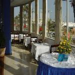 Tanger - Hotel Rif - Blick aus dem Frühstückszimmer