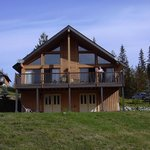 Our lakeside lodge