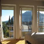 room at Albergo Caminetto, top floor