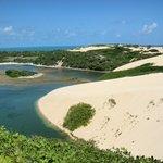 Sand dunes in Jenipabu