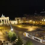 Night view of Brandenburger from room