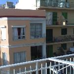 Wiew from balcony