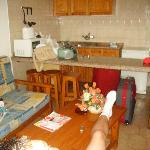 Living-room/Kitchen
