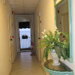 Hallway - balcony at end