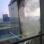 View from the 26th floor of the new Water Tower. Fire Alarm did not go off.