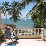 Our balcony in Bucerias