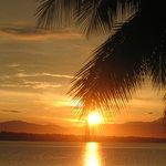 La Puntilla sunset