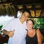 Lucio and me on our last day...