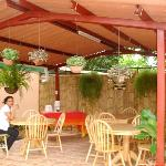 Outdoors Dining Room