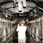 Inside the submarine used in Das Boot