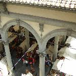 Mercato del Porcellino - the view from Pontormo.