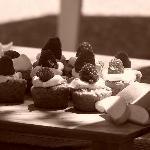 food at the vineyard