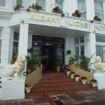 Albany (Lions) Hotel entrance