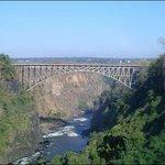 Border Bridge Between Zambia and Zimbabwe