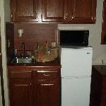 Kitchenette in King Bedroom