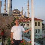 Blue Mosque from the Yunus Emre roof terrasse