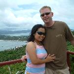 Me and Rhea at Mt Luho