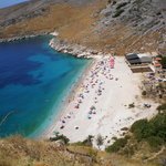 a beach between Vlora and Sarand\a