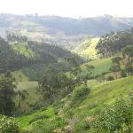 views from Casa Mojanda