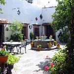 Courtyard of Casa Carmen
