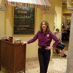 TERESA THE OLIVE GARDEN MANAGER