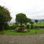 View from the front of Loch Lein House
