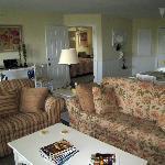 Living room, doorway to the lock-off unit