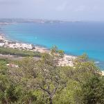 View from El Mirador on the way to La Mola