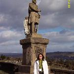 with Richard the Bruce at Castle Stirling
