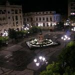View from room at night