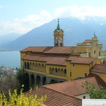 Locarno Monestary on Mountain top