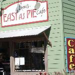 Front of the Easy As Pie Cafe