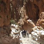 In The Dades gorge w/ Mohommed our guide