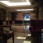 vew from mezzanine to lobby!