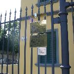 The front gate - you're given a key upon check-in.