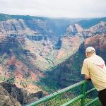 Spectacular view of Waimea Canyon...
