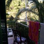 La terrasse fort agréable!