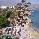 Beach from the Balcon De Europa