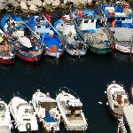 Colorful Boats in Marina Grande
