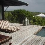 Kwandwe Ecca Lodge - Outdoor Terrace