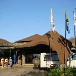 Entrance to Lodge
