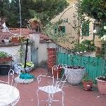Il Bargellino's Terrace