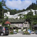 Hotel from the Village