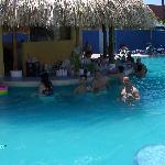 En el bar de una de las mejores piscinas