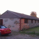 Converted barn accommodation at Birds Farm