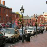 Newburyport - part of the town, a few steps out the front door